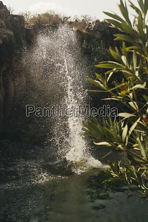 water splash yehudiya reserve golan israel