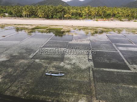 indonesia sumbawa kertasari aerial view of