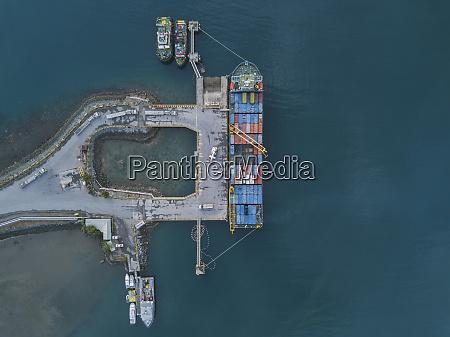 indonesia sumbawa maluk aerial view of