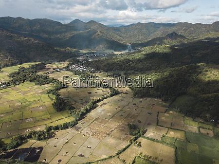 indonesia west sumbawa maluk aerial view