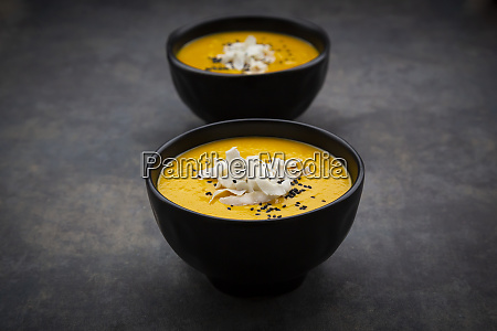 sweet potato soup with mango