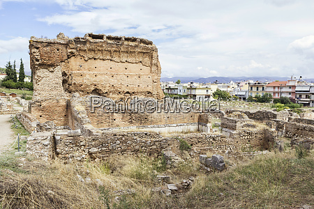 greece argos antique theater and thermae