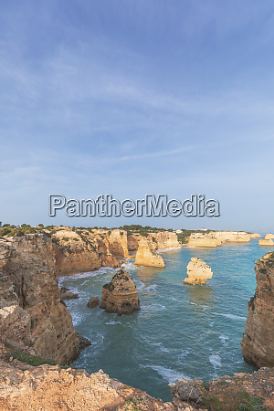 portugal algarve lagoa praia da marinha