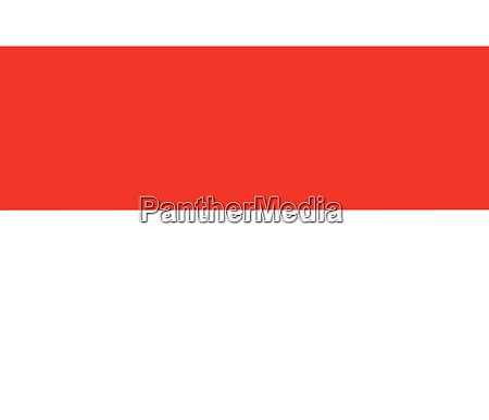 monaco red and white national flag