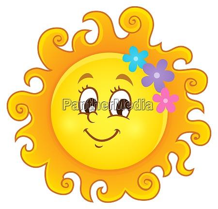 happy spring sun theme image 3