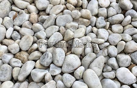 the texture of gravel stones