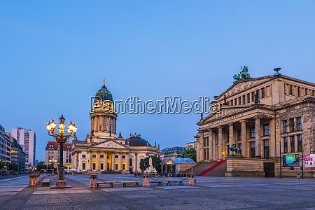 deutscher dom and the concert hall