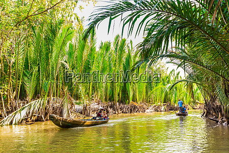 sailing on the tributaries of the