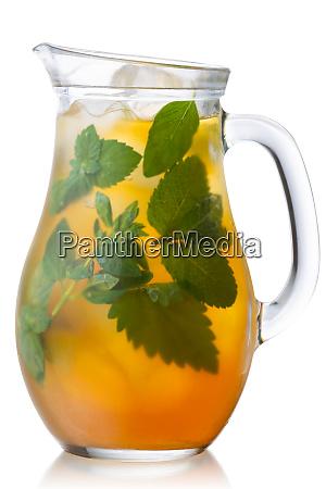 iced herbal tea jug paths