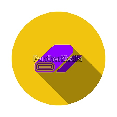 tailor cloth roll icon