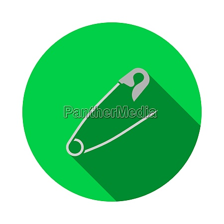 tailor safety pin icon
