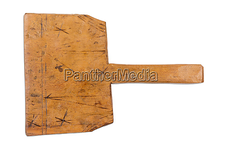 old rustic wooden board cutting board
