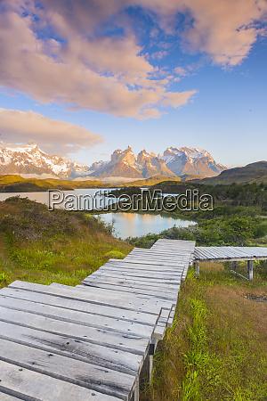 boardwalks at lake pehoe torres del