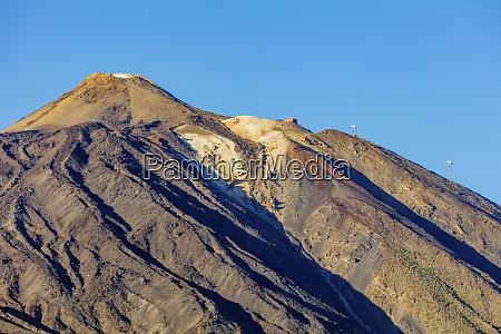 pico del teide 3718m highest mountain