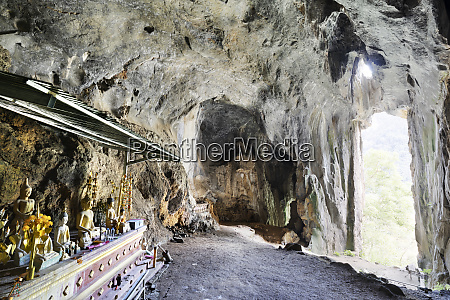 interior of the pha kuang cave