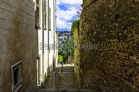 street of le mans old town