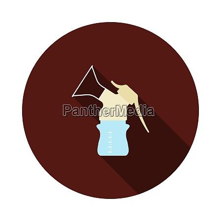 breast pump icon