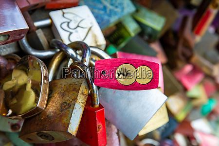 locks as symbol for everlasting love