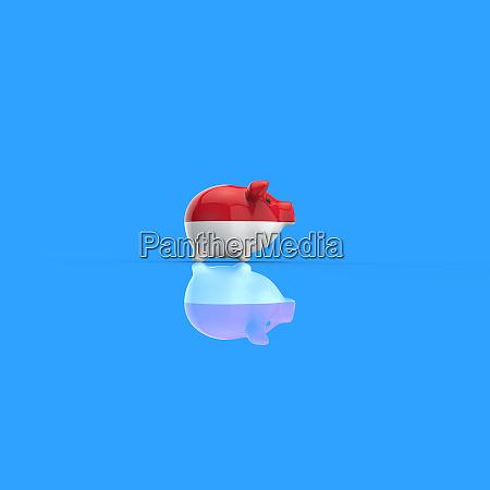 coffe cup concept 3d illustration