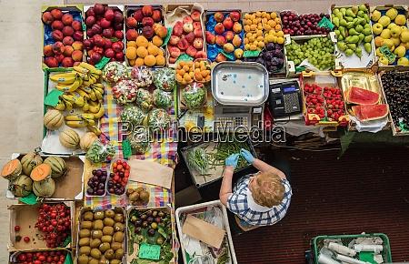 the covered market ancona marche italy