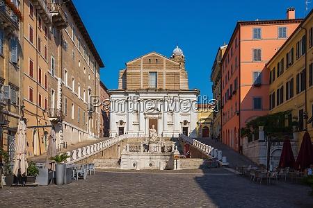 piazza del plebiscito ancona marche italy