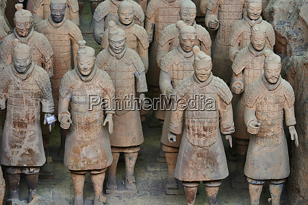 lintong site army of terracotta warriors
