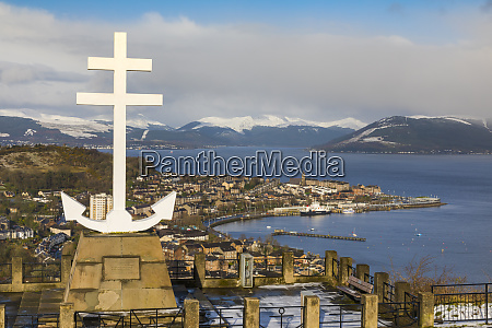 free french memorial lyle hill greenock