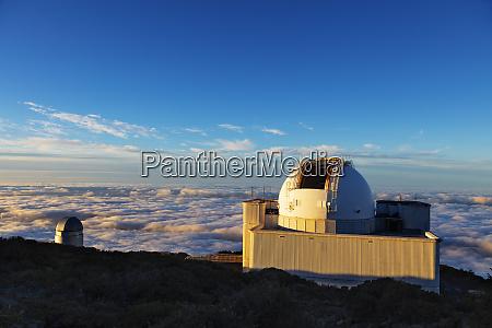 telescope observatory caldera de taburiente national