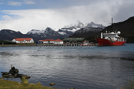 king edward point research station with