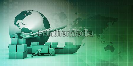 global, distribution, network - 27066303