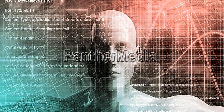 online, digital, background - 27066304