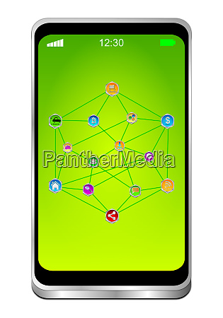 smartphone with internet of things
