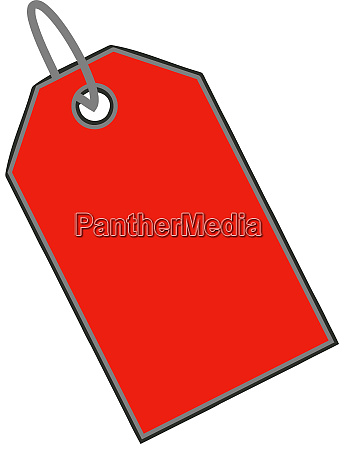 sale discount clearance tag illustration red