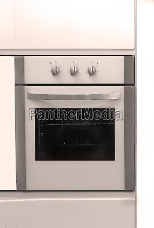 modern built in kitchen oven