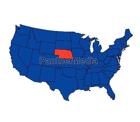 state of nebraska location