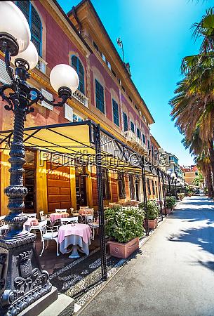 the city center of sestri levante