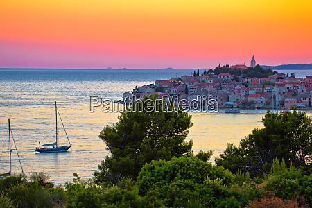 adriatic tourist destination of primosten archipelago