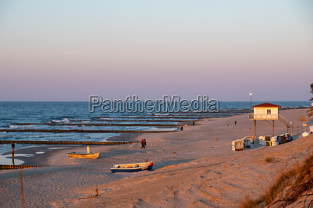 the beach of zempin on the
