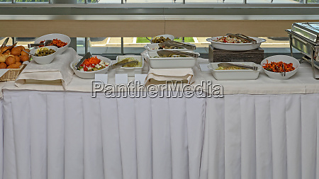 served buffet