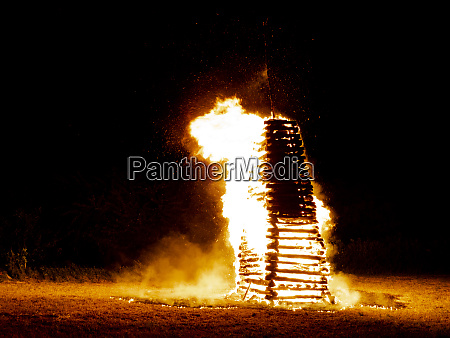 great and fantastic midsummer fire or