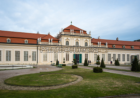 upper belvedere palace and gardens vienna