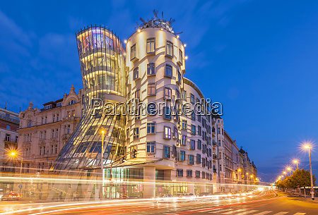 dancing house ginger and fred at