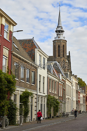 lange nieuwstraat and st catherines cathedral
