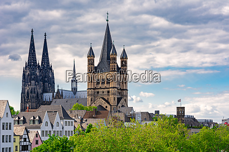 great saint martin church and cologne