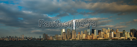 a view of lower manhattan from