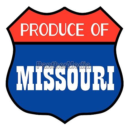 produce of missouri state