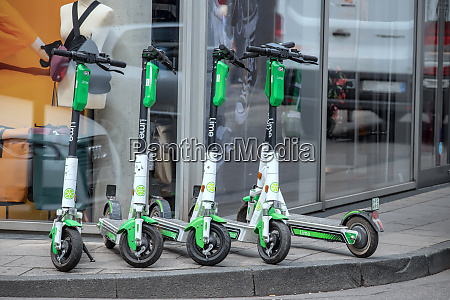 obstacle electric scooter