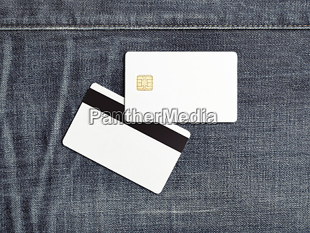 bank cards mock up