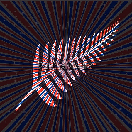 red white and blue rays background