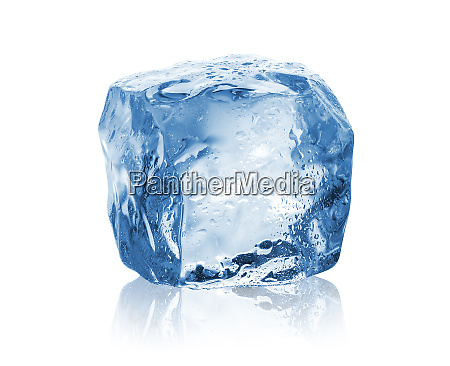 drops on ice cube